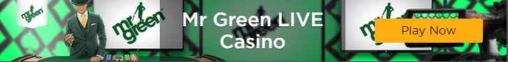 Mr Green Live Casino Leaderboard Banner Static