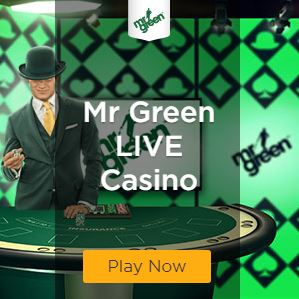 Mr Green Live Casino Square Banner Static