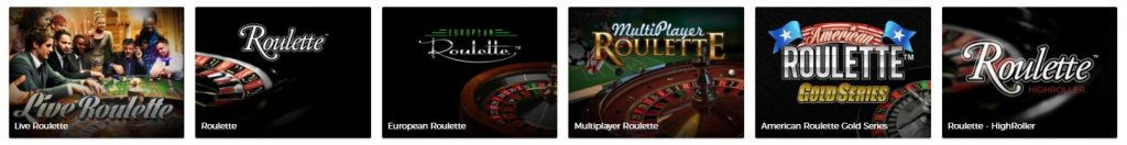 Mr Green Roulette Tables