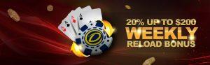 Roulette Bonuses Reload Bonus