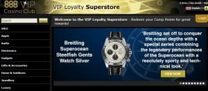 888 Casino VIP Superstore