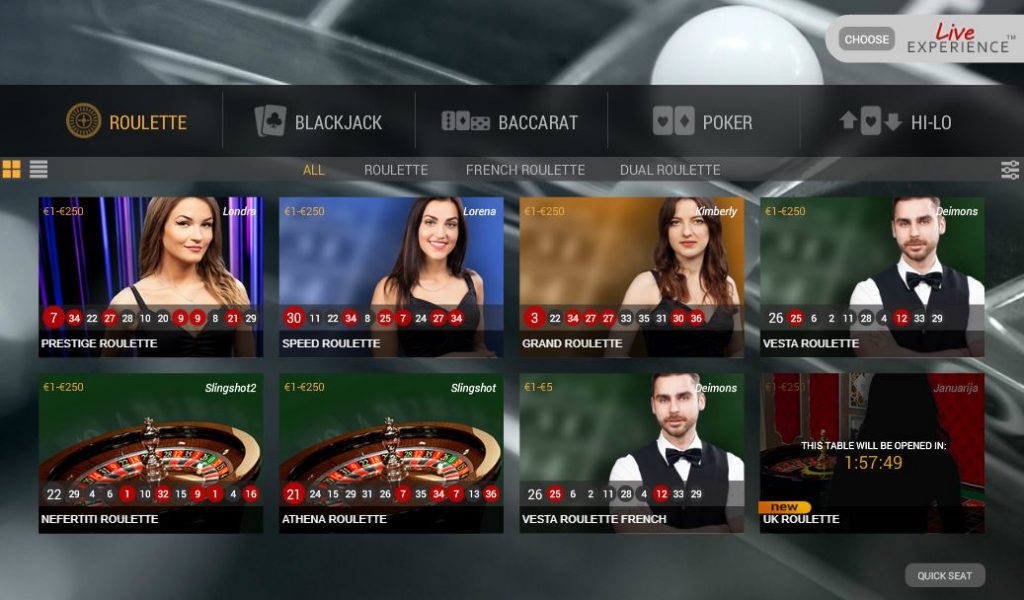 Blackjack lanza