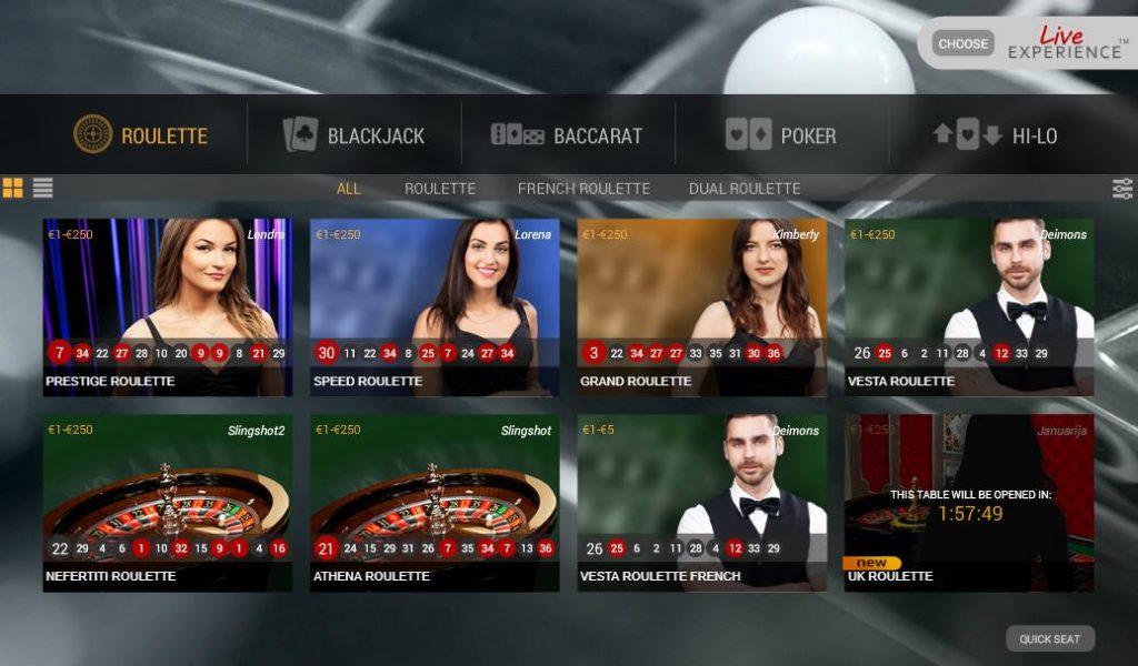 Casino.com Live Roulette Offer