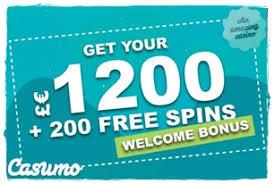 Casumo Welcome Bonus UKCG2