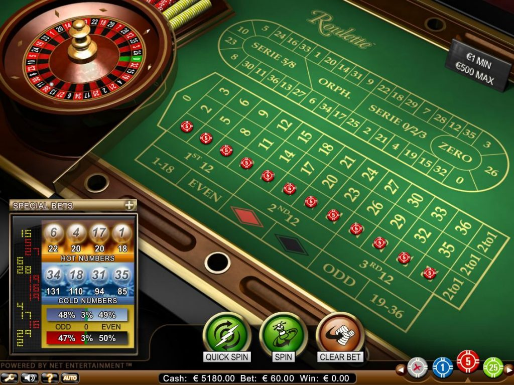 Casino Online Roulette System