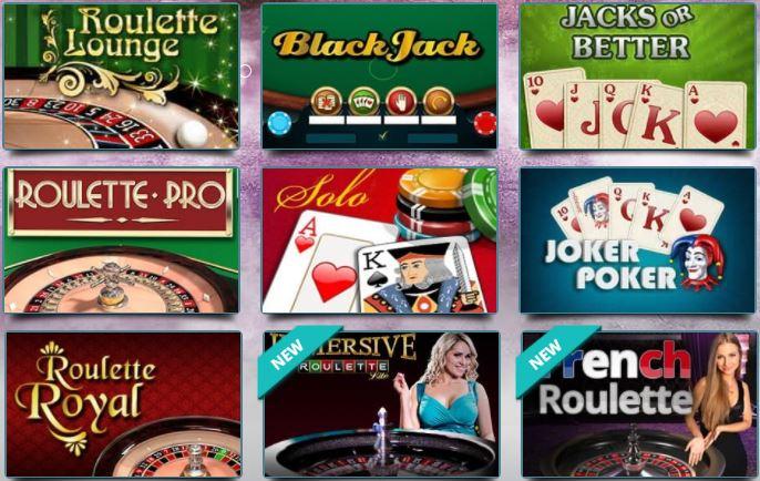 Karamba Roulette Table Games