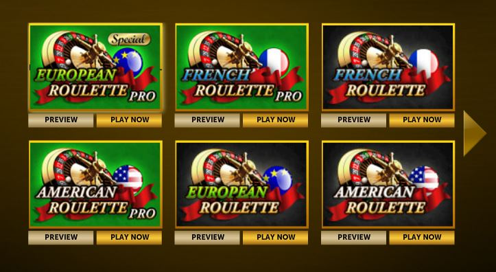 Mega Casino Roulette Table Games