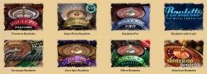OrientXpress Roulette table games