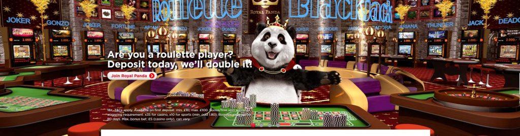 Royal Panda Welcome