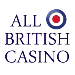 All British casino logo table