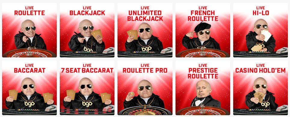 BGO Live Roulette Games