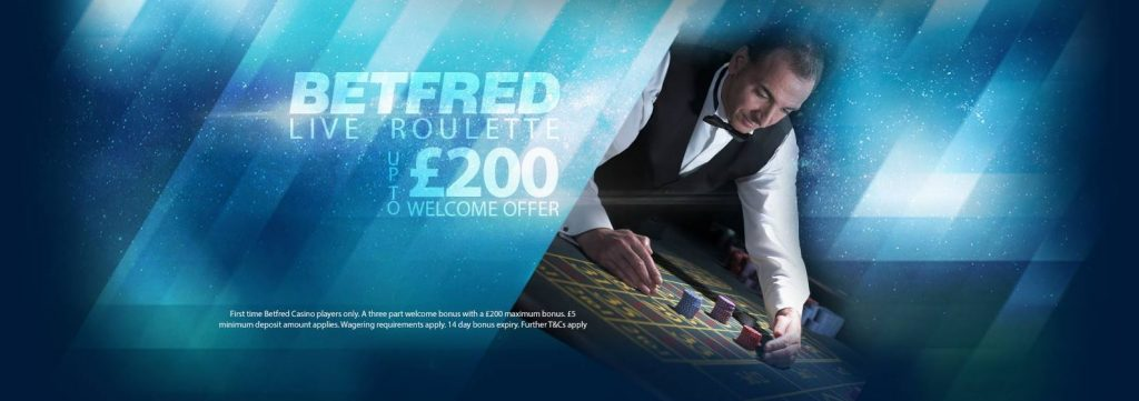 BetFred Welcome Bonus
