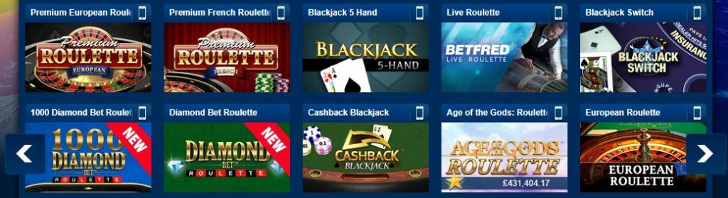 Betfred - Play online roulette at Betfred Casino 2