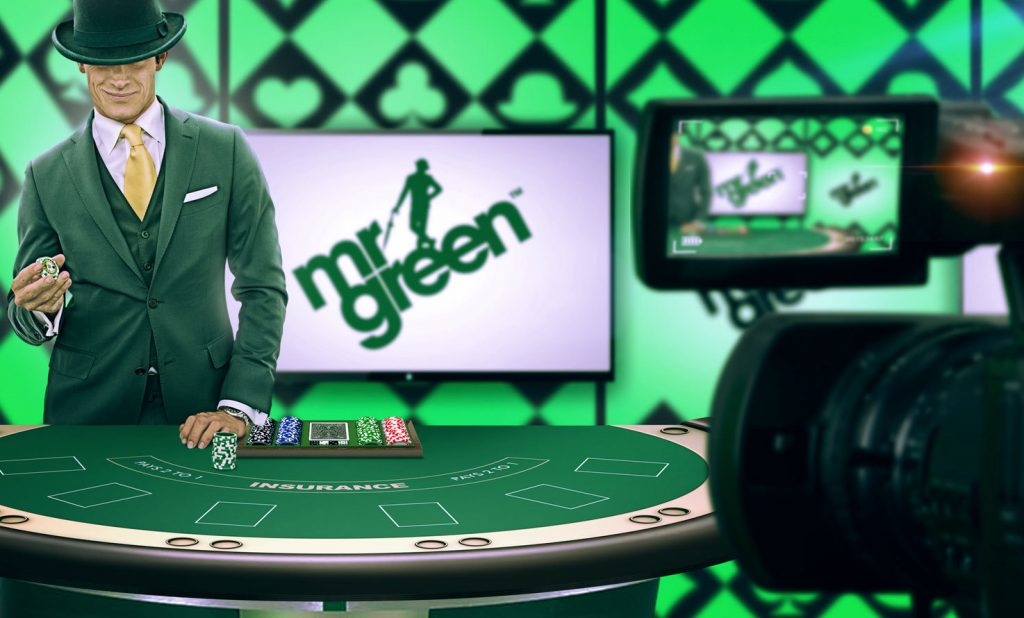 Evolution Gaming Mr Green Live Roulette