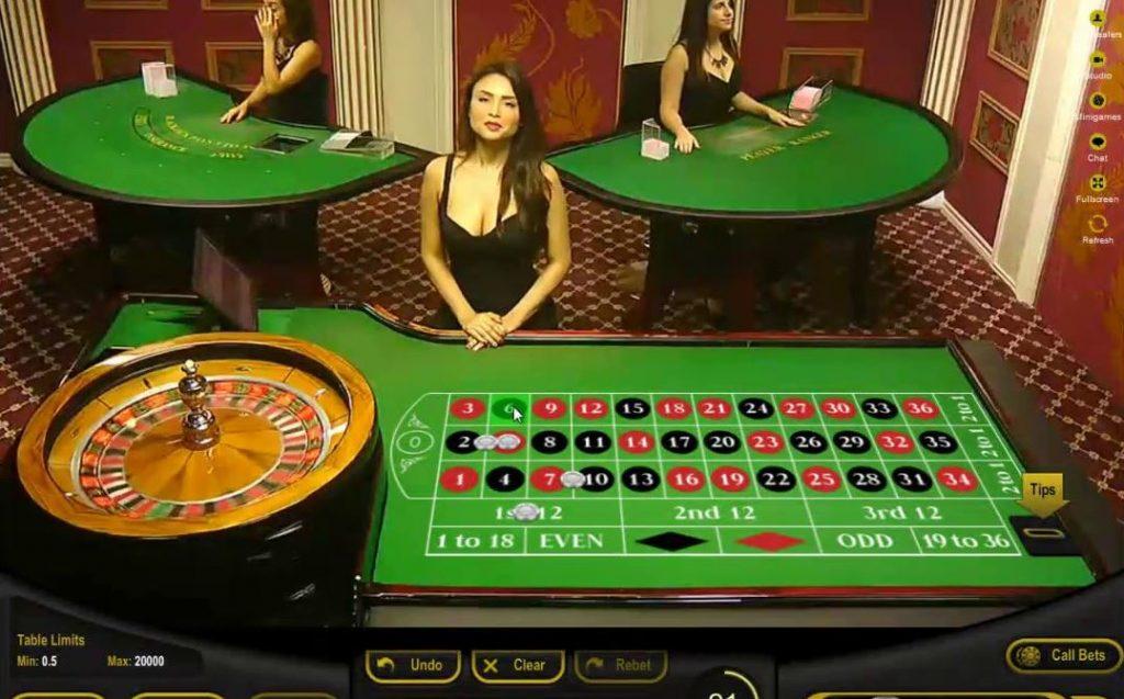 Ezugi Live Roulette