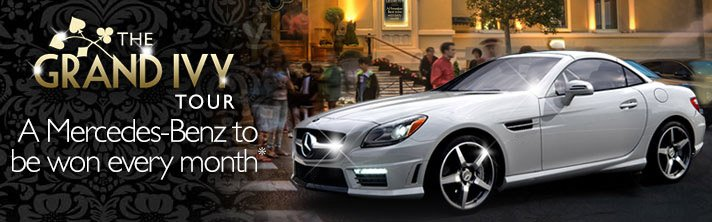 Grand Ivy Mercedes Benz Promotion