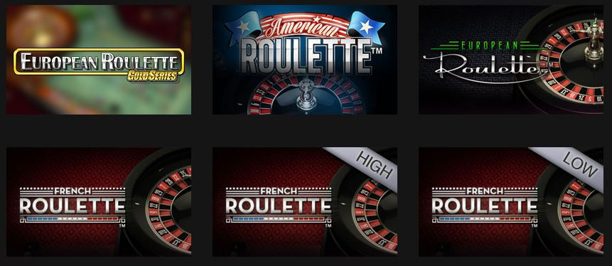 Grand Ivy Roulette Tables