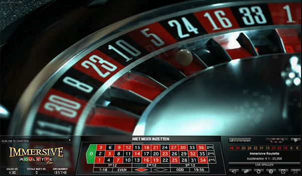 Immersive Roulette 2 Betting Limits