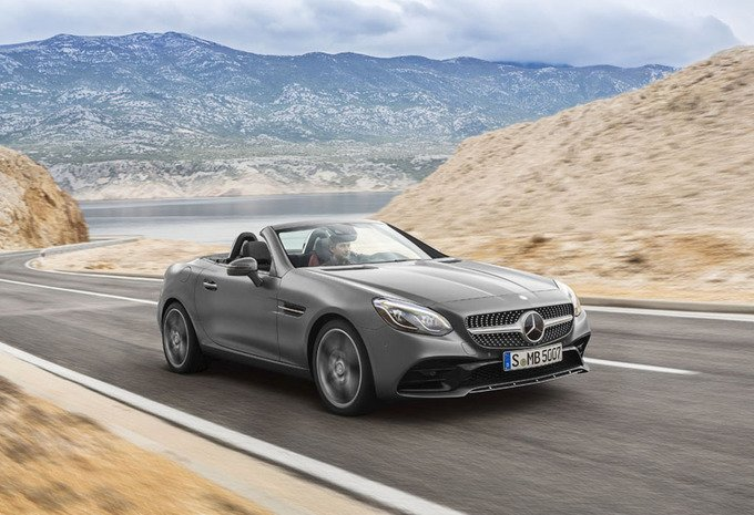 Mercedes Benz SLC 200