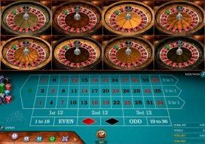multiwheel roulette