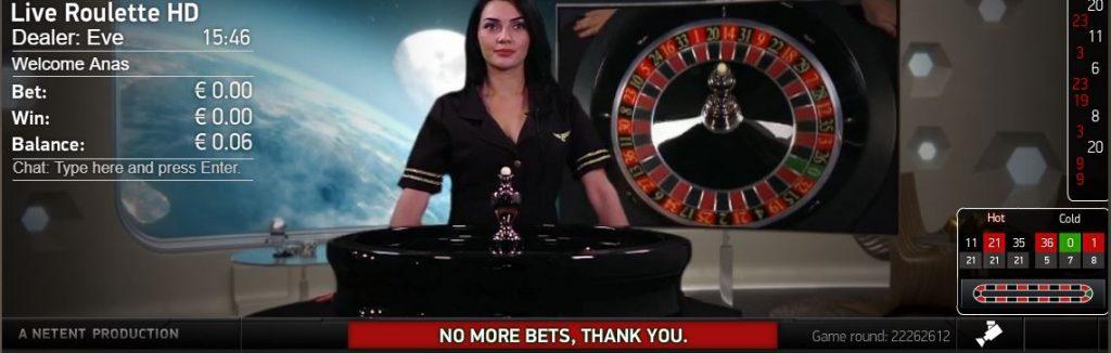 NetEnt Rocket Roulette