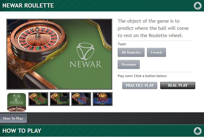 Paddy Power Roulette Info