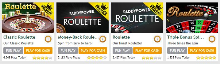 Paddy Power Roulette Table Games2