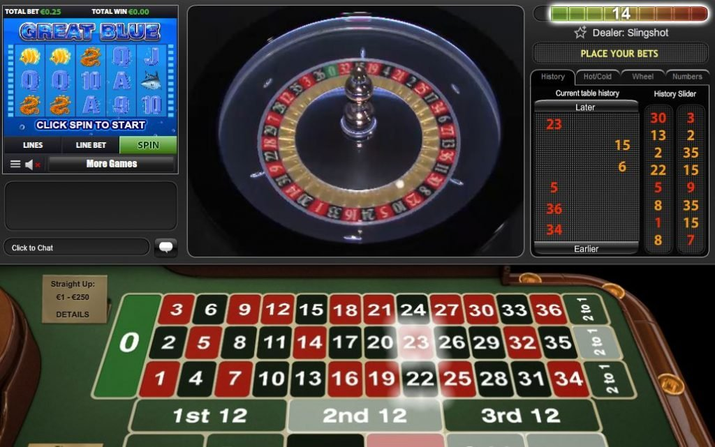 PlayTech MiniGame Roulette
