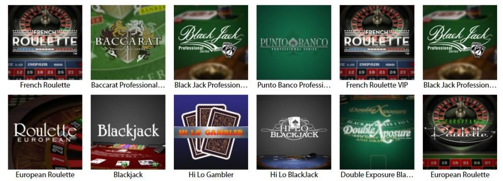 RedBet Roulette Table Games