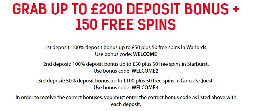 RedBet WelcomeBonus