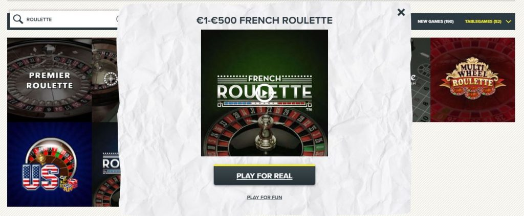 SuperLenny Roulette Table Games