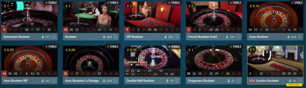 Play online roulette at thrills casino 1