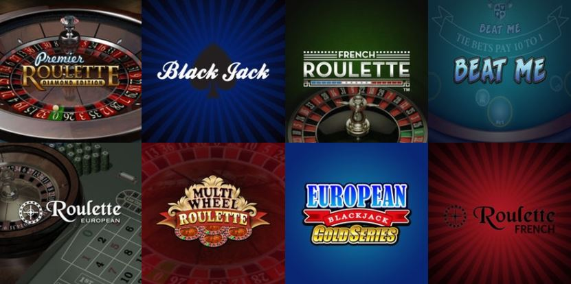 Thrills Roulette Table Games