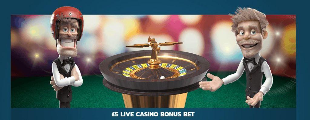 Thrills welcome bonus live casino bonus