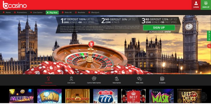 bCasino Review - Play online roulette at bCasino 1
